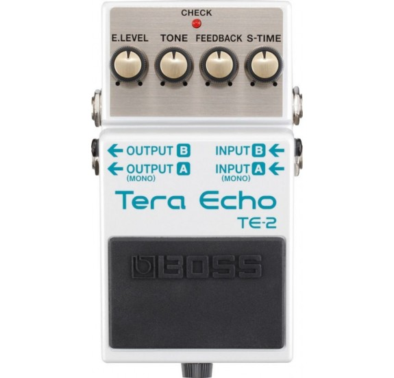 Boss Te-2 Tera Echo Gitár Tér Effekt