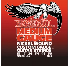 Ernie Ball 2204 Medium Electric Nickel Wound elektromos gitár húrkészlet