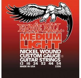 Ernie Ball 2206 Medium Light Electric: elektromos gitár húrkészlet