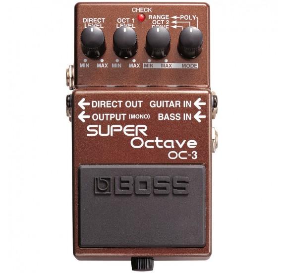 Boss OC-3 Super Octave gitár effekt oktáv felező