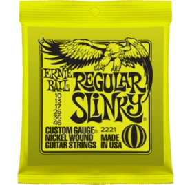 Ernie Ball NICKEL REGULAR SLINKY 10-46, elektromos gitárhúr