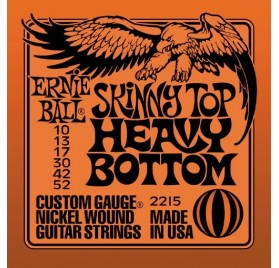 Ernie Ball Nickel Wound Skinny Top Heavy Bottom Slinky elektromos gitárhúr 010-052