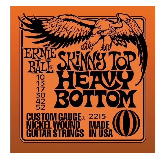 Ernie Ball Nickel Wound Skinny Top Heavy Bottom Slinky