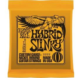 Ernie Ball Nickel Wound Hybrid Slinky elektromos gitárhúr