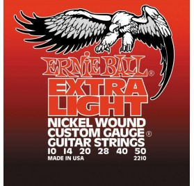 Ernie Ball Nickel Wound Extra Light (Wound G) elektromos gitárhúr
