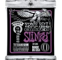 Ernie Ball 3120 Coated Electric Titanium RPS Power Slinky elektromos gitárhúr