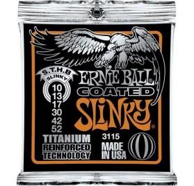 Ernie Ball Coated Tit. Rps Sthb. Slinky 10-52 Elektromos Gitárhúr
