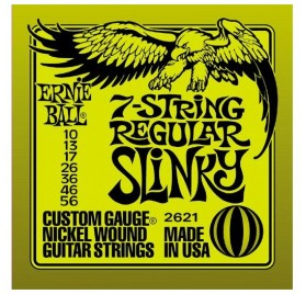 Ernie Ball Nickel Wound Regular Slinky 7 Húr elektromos gitárhúr