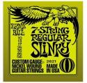 Ernie Ball 2621 7 string Regular Slinky elektromos gitárhúr
