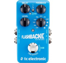 TC Electronic FlashBack 2 Delay és looper gitár effekt