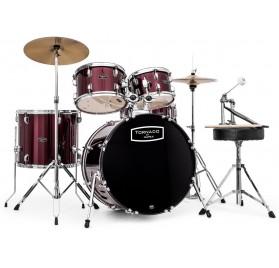 Mapex TND5044TC Tornado Burgundy akusztikus jazz dobsfelszerelés