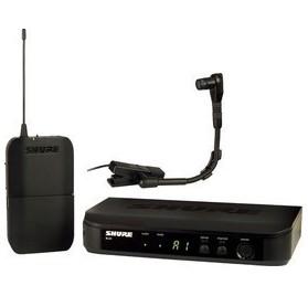 Shure BLX14E/B98-M17 vezeték nélküli mikrofon rendszer