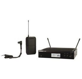 Shure BLX14RE/B98-M17 vezeték nélküli hangszermikrofon szett