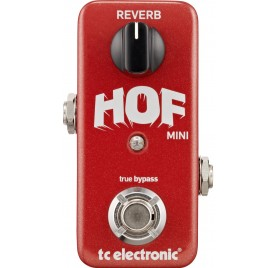 TC Electronic Hall of Fame Mini Reverb gitár effekt