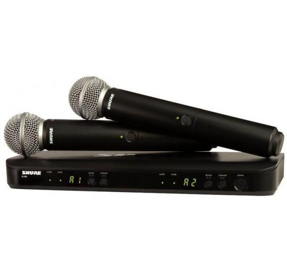 Shure BLX288E/SM58-H8E Mikrofon