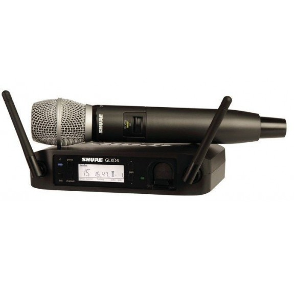 Shure GLXD24E/SM86-Z2 kézi mikrofon szett