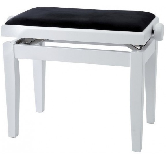 GEWA 130020 Piano Bench Deluxe White Matt zuongoraszék