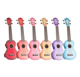 Baton Rouge NU1S  színes ukulele