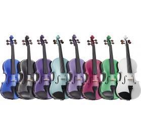 Stentor SR1401 Harlequin 4/4 hegedű szett több színben