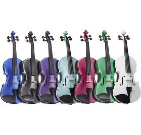 Stentor SR1401C Harlequin 3/4 hegedű szett több színben