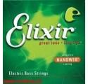 EElixir 15432 Electric Bass String with Nanoweb Coating Medium B húr 130