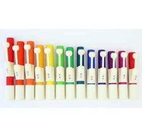 Tanuló handchimes 13db-os szett Boomwhackers színekben