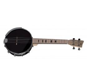 Gewa fekete Banjo-Ukulele Manoa