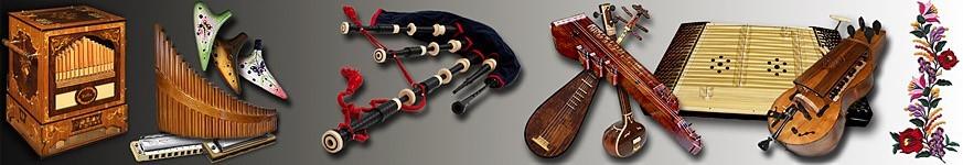 Népi és egyéb hangszerek