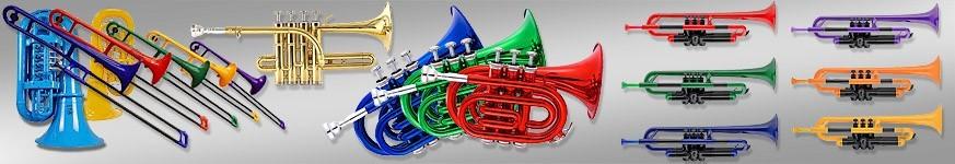 Rézfúvós tanuló hangszerek